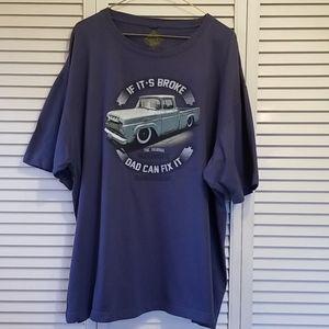 Men's XXL Newport Blue Tee Shirt